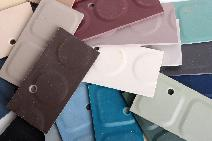 Roundel Solid Color Rubber Flooring