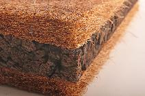 Coconut Fiber and Expanded Cork Insulation