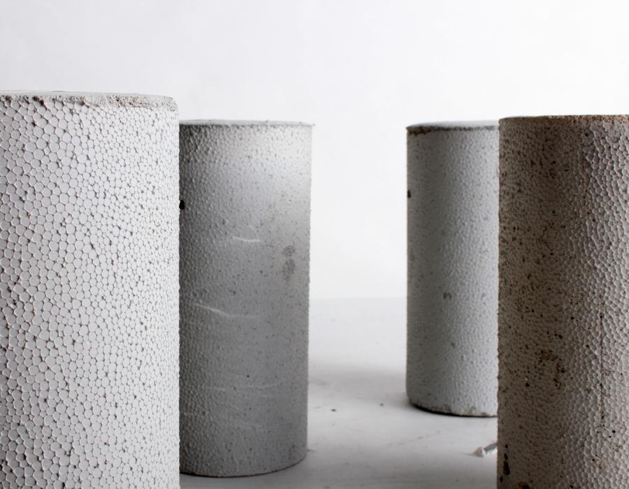 Interra Cellular Lightweight Concrete : School of architecture materials lab